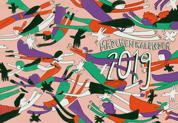Der Mädchenkalender 2019 für Streetlife e.V.