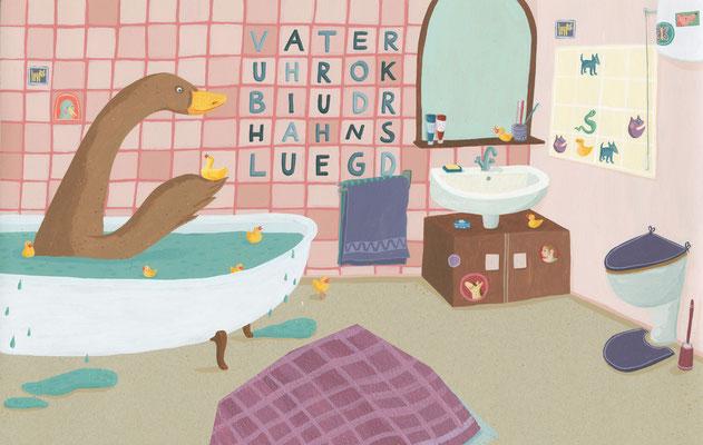 Badezimmerrätsel