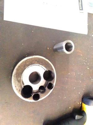 Zylindrizität und Planlauf ist nun wieder hergestellt!