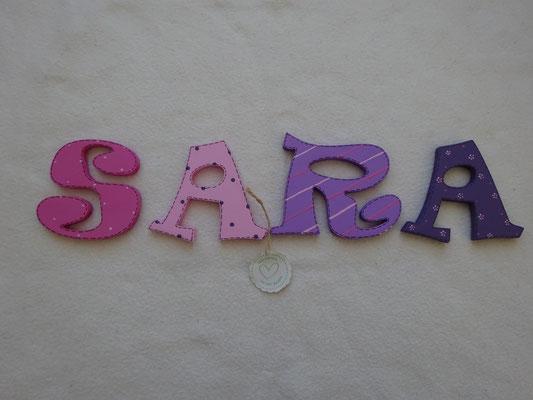 Einzelbuchstaben RAVIE