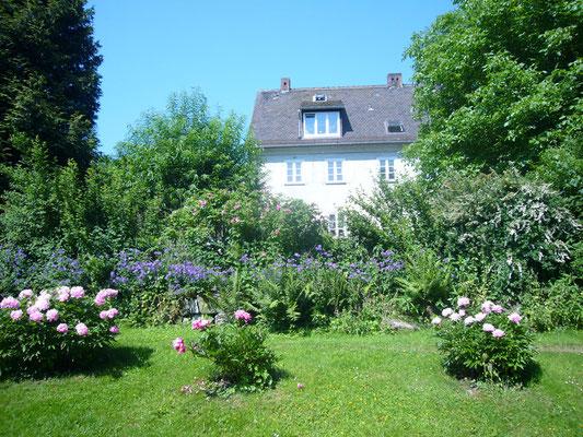 Haus vom hinteren Garten