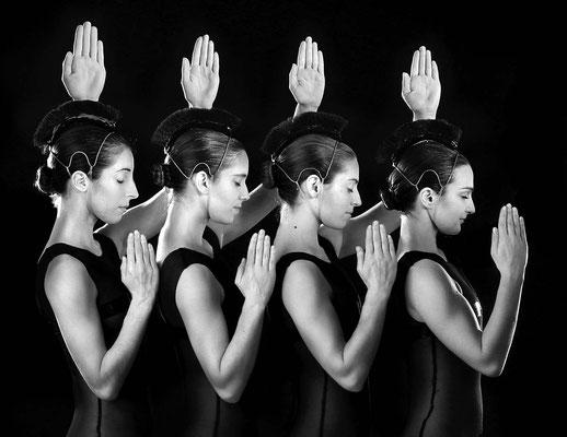 photo : Marie Chouinard | dancers : Kirsten Andersen, Isabelle Poirier, Carla Maruca, Sandrine Lafond