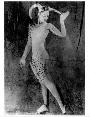 Photo: Benny Chou Interprète/Dancer : Marie Chouinard