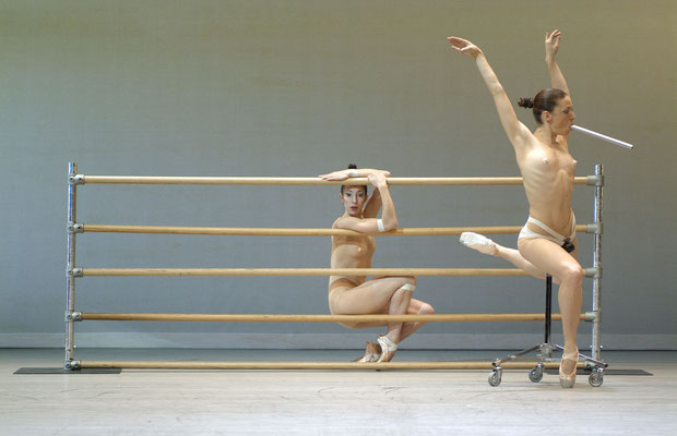 photo : Marie Chouinard   interprètes : Kirsten Andersen, Carla Maruca