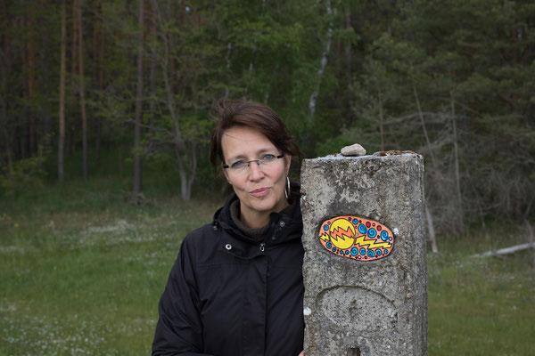 Einweihung einer Naturgalerie am Elberadweg