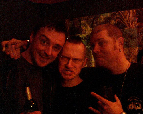 With Bård and Henka (Clawfinger) 2006