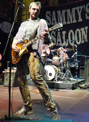 Ah, playing the Fischauktionshalle in Hamburg with my buddies from Sammy's Saloon!