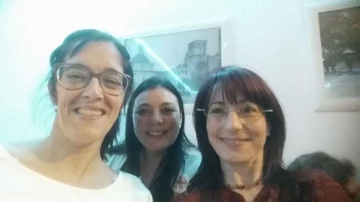 Patricia Sabbatella, Vanessa Vannay y Gabreila Guaglione Sverdlik
