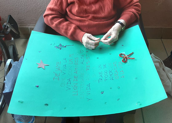 En musicoterapia creamos frases de navidad