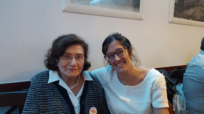Gabriela Guaglione y Serafina Poch