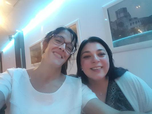 Gabriela Guaglione y Vanessa Vannay