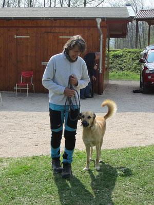 Birgit mit Ihrem Chicco