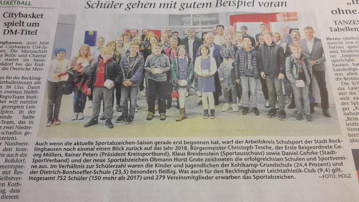 Recklinghäuser Zeitung v. 17.05.19
