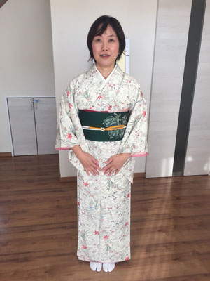 2015.10 個人レッスンの初心者さん