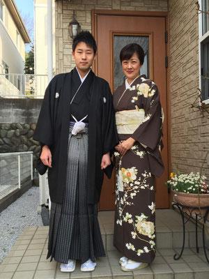 2015.3 息子の高校卒業式