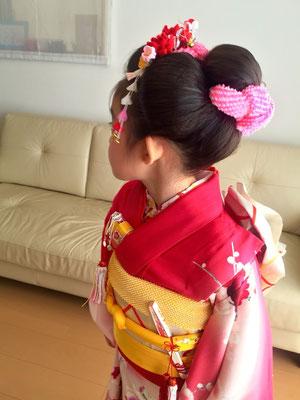 2015.10 7歳七五三のお嬢様