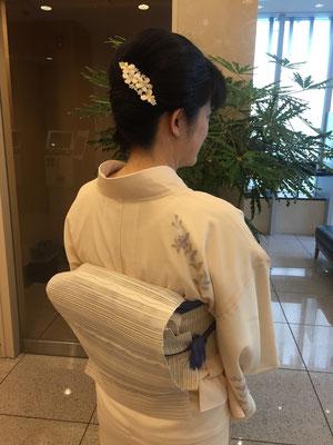 2015.8 茶道の研修会で福岡からお越しのお客様