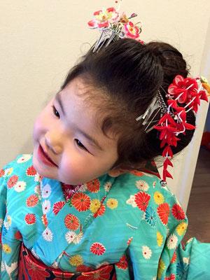 2015.11 3歳七五三のお嬢様