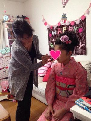 2014・11 可愛い10歳のお嬢様
