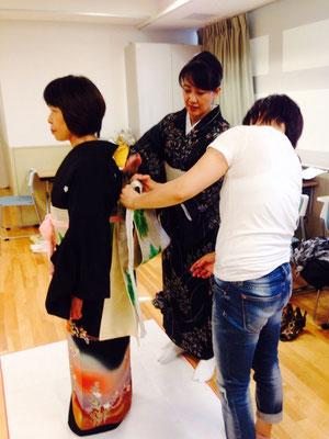 2014・8 夏の着付け講座