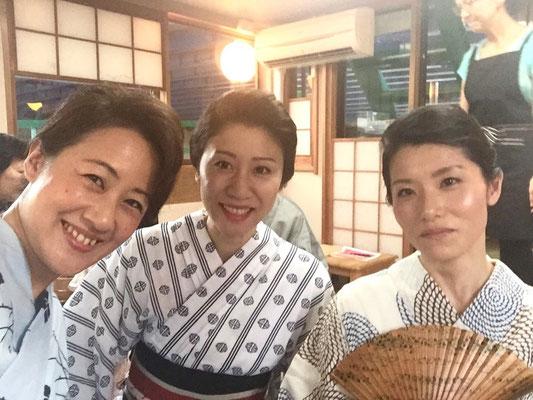 2015.8 屋形船にて納涼会