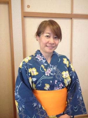 2014・7 浴衣レッスン