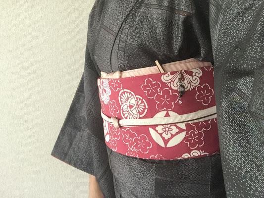 2016.2 大島紬のコーディネート