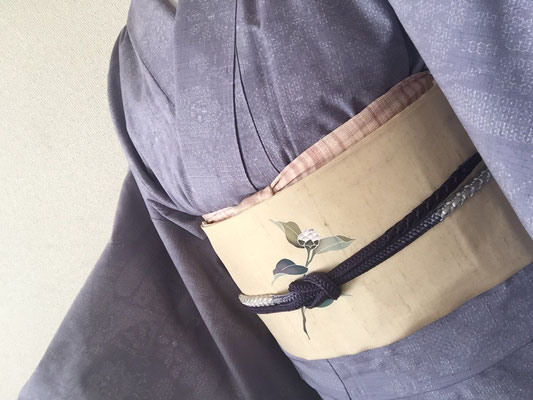 2016.1 結城紬のコーディネート
