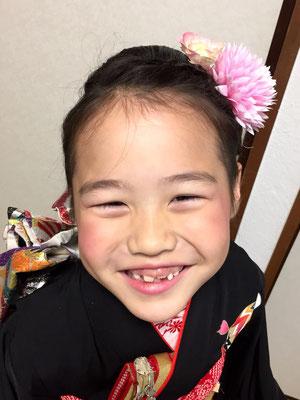 2015.11 7歳七五三のお嬢様