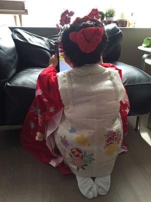 2015.10 可愛い3歳のお嬢様