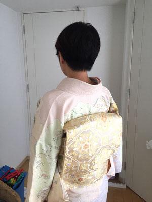 2015.10 お宮参りのお母様