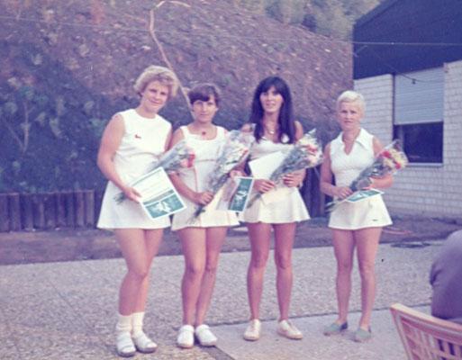 1. Damenmannschaft 70er Jahre