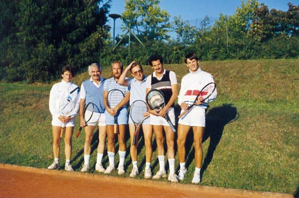 Herrenmannschaft in den 80er Jahren