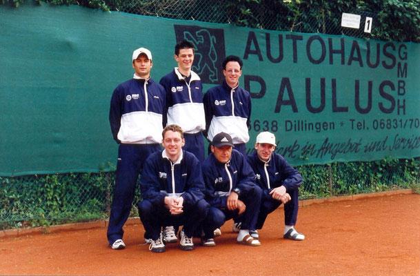2. Herrenmannschaft in den 90er Jahren