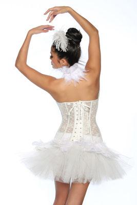 Petticoat Swan/Weiss