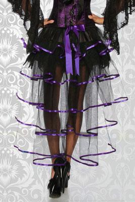Burlesque Stufenrock lila