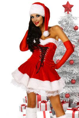 Santa Petticoat-Kleid