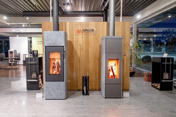 Live Feuer in unserer Ausstellung