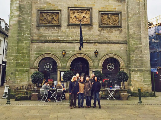 Die Crew: Norma, Uli & Moni, Heike, Tanja & Claus