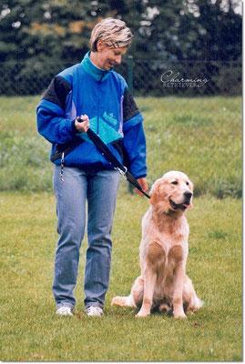 10 Monate alt - Hundevorführung beim HSV Pulsen