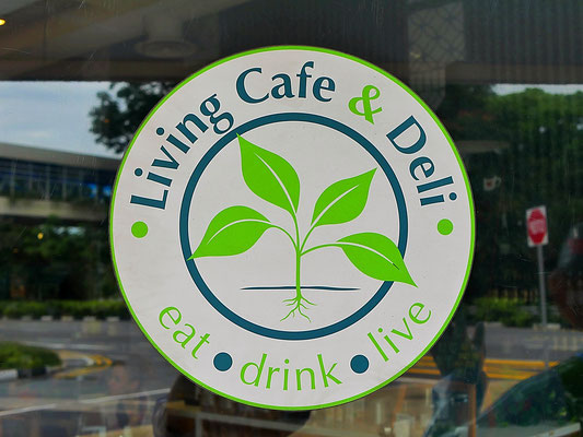 The Living Cafe and Deli Singapore Logo