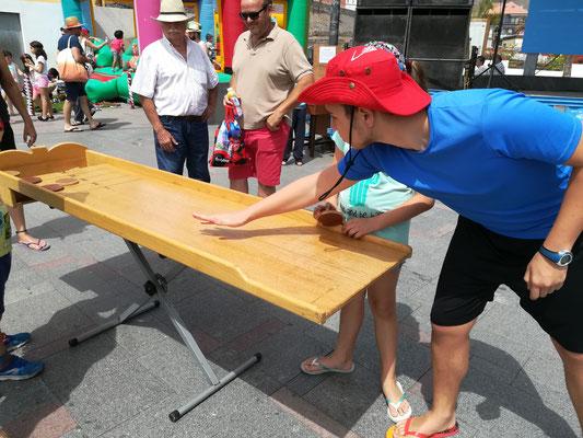 San Sebastían, juegos de madera tradicionales