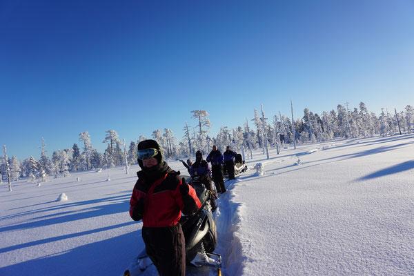 Tagestour in schwedisch Lappland