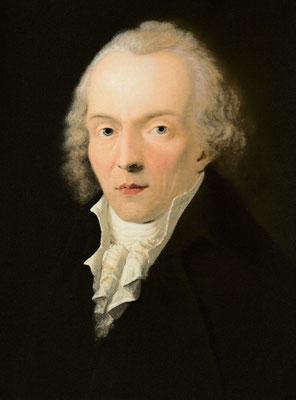 Jean Paul im Alter von 36 Jahren – Gemälde von Heinrich Pfenninger 1798, Gleimhaus Halberstadt
