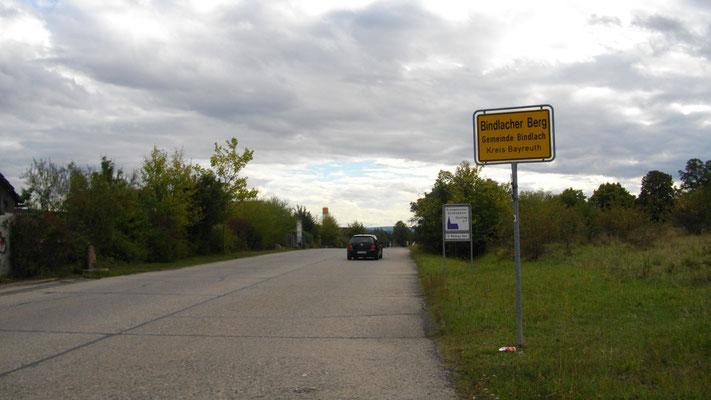 Panzerstraße am Bindlacher Berg
