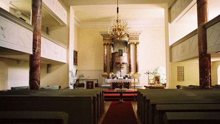 Altar der Lorenzkirche in Hof