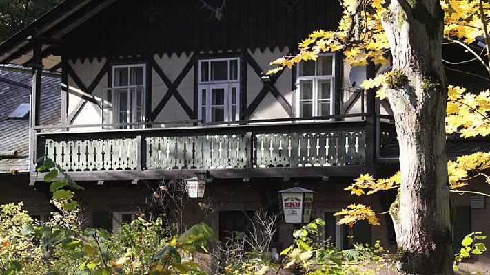 Die »Waldhütte« im Limmersdorfer Forst