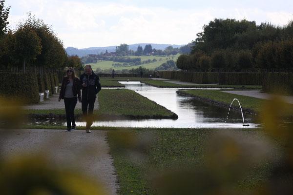 Eremitage Bayreuth – Kanalgarten