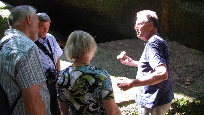 Ein Touristenführer erklärt