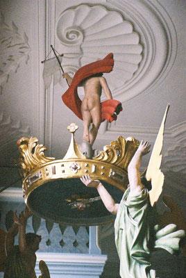 Der nackte Po des Jesus in der Joditzer Kirche